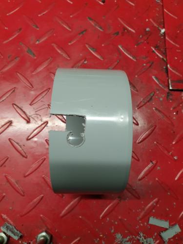 Softbox-Wand-Halterung im Bau (Bild 3)