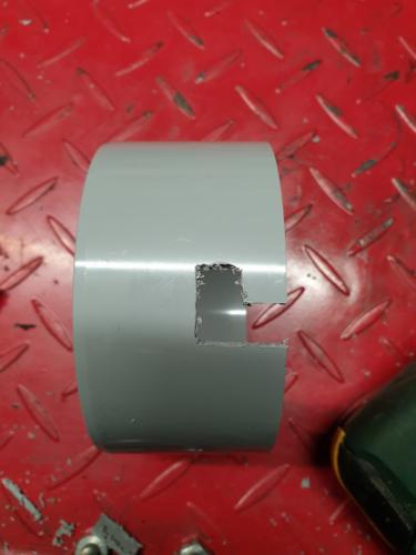 Softbox-Wand-Halterung im Bau (Bild 2)