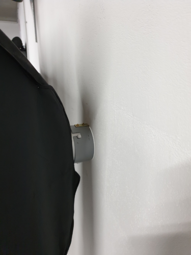 Softbox-Wand-Haltung Detailbild