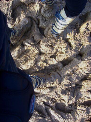 Sonisphere 2010 Zürich (Beine im Schlamm)