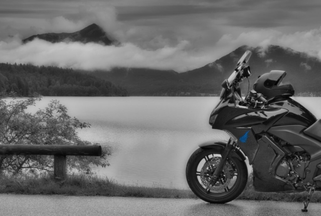 Honda CBF 1000 F Nebel am See
